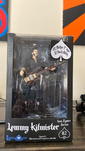 Lemmy Kilmister collectible action figure for Sale in Burbank, CA