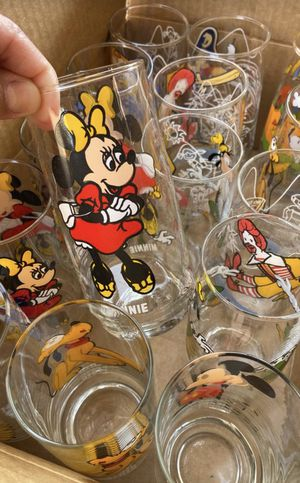 Disney Collector series glasses for Sale in Peoria, AZ