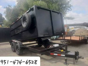 2020 Dump Trailer 8x12x4 for Sale in Riverside, CA