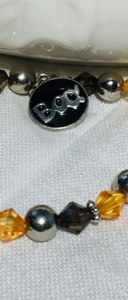 Danbury Mint, Vintage Halloween Charm Bracelet. It has elasticity. Excellent condition. See all photos, as they are part of the item description. for Sale in Milford,  MA