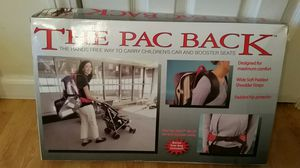 Baby Booster Seat Backpack for Sale in Waterbury, CT