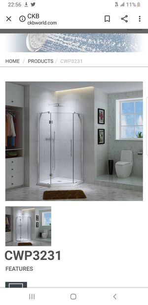 Glass shower NEW for Sale in Detroit, MI