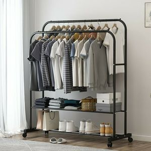 NEW Garment Rack Closet Drying rack Clothes Hanging for Bedroom Closet Storage area Backyard Dressing room for Sale in Las Vegas, NV
