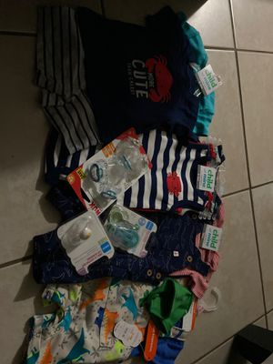 Baby clothes bundle brand new for Sale in West Palm Beach, FL