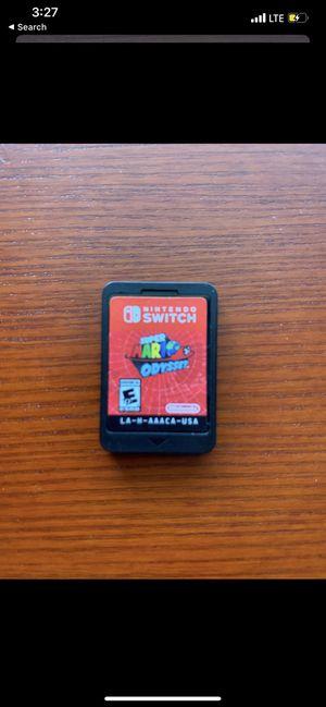 Super mario odyssey (Nintendo switch) for Sale in Houston, TX
