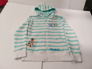 Disney 2019 Zip Up Embroidered Hoodie M(7/8) for Sale in Santa Ana, CA