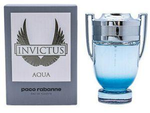 Invictus Aqua by Paco Rabanne 3.4oz for Sale in Moreno Valley, CA