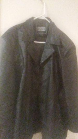 CLOI II Black leather jacket for Sale in Laveen Village, AZ
