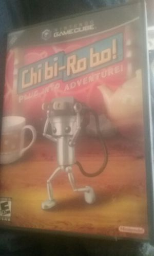 Chibi Robo GameCube super rare CIB for Sale in Glendale, AZ