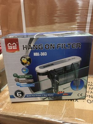 Aquarium fish tank hang on filter for Sale in Hacienda Heights, CA