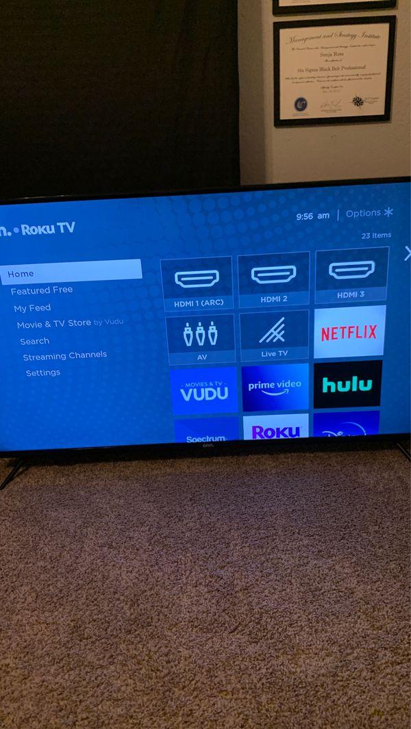 50 Inch Onn Roku 4K TV (Open to offers)