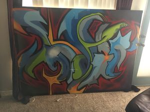 2 Graffiti paintings for Sale in San Diego, CA
