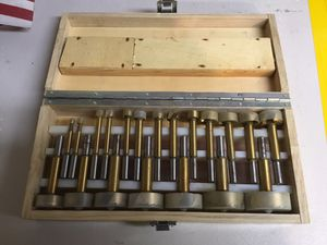 WOOD AUGER DRILL BIT SET for Sale in Tigard, OR