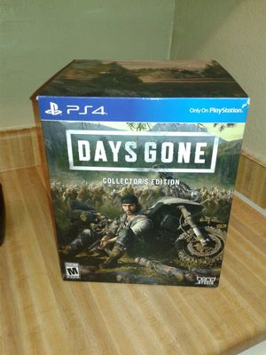 Days Gone - Collector's Edition extras for Sale in Arlington, TX