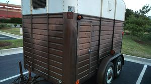 Trailer . 8x5.5 measurement. Antique 1974 rice utility trailer . Clear MD title. Everything works perfect. Breaks and lights for Sale in Glenn Dale, MD