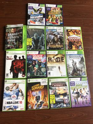 Xbox 360 games for Sale in Lynnwood, WA