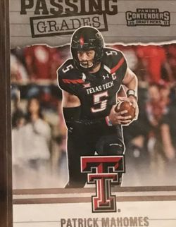 Patrick Mahomes Rookie Card -Mint!!!! for Sale in Normandy Park,  WA