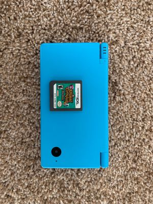 DSi (sky blue) & Animal Crossing Game (Wild World) for Sale in Gaithersburg, MD
