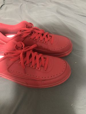All red pythons jordan 2's size 11 1/2 for Sale in Phoenix, AZ