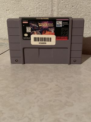 War 3010 Super Nintendo for Sale in Euclid, OH