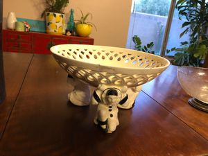 Antique mime porcelain bowl for Sale in Phoenix, AZ