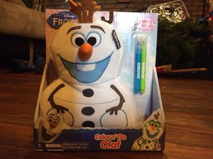 Color n go Olaf New for Sale in Columbus, OH