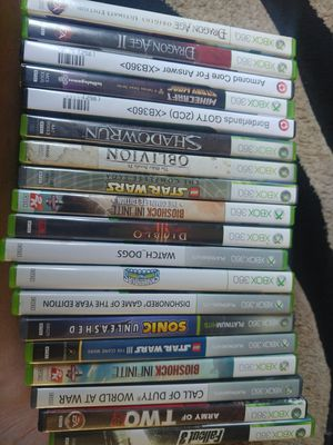 Xbox 360 games 19 in total for Sale in Lake Elsinore, CA