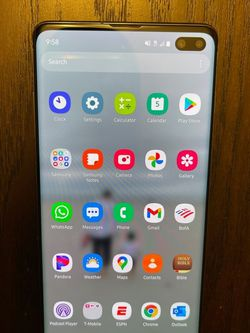 Black Samsung S10 Plus for Sale in Beaverton,  OR