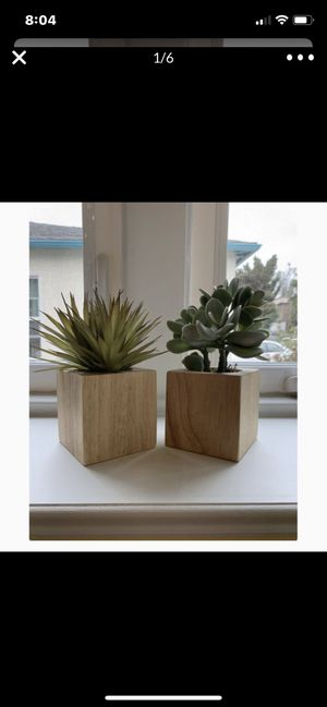 14!!! Plastic SUCCULENT plants. -Home Decor for Sale in Los Angeles, CA
