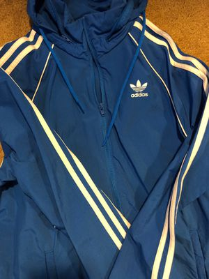 Windbreaker Adidas sweatsuit size small for Sale in Brentwood, CA