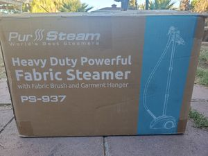 $65 PUR STEAM HEAVY DUTY FABRIC STEAMER for Sale in Las Vegas, NV
