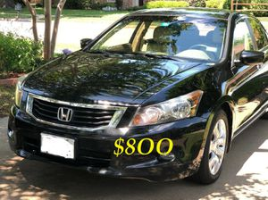 🔑👉💲8OO URGENT I sell my family car 2OO9 🔑 Honda Accord Sedan V6 EX-L power start Runs and drives very smooth.🔑💝 for Sale in Alameda, CA