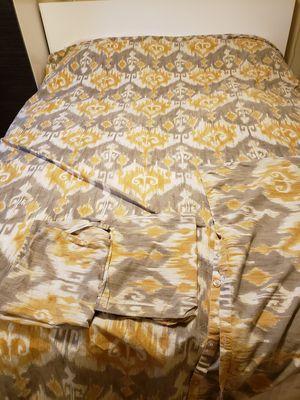 Queen size cotton duvet set for Sale in Bellevue, WA