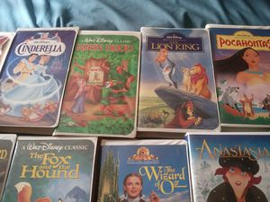 Black Diamond Beauty and the Beast. vhs tape with Walt Disney Classic Collection. 11 total Rare for Sale in Martinsburg, WV