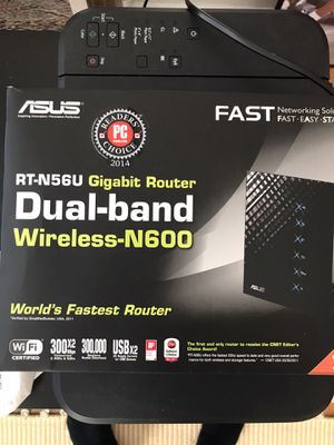 Asus dual band router (Worlds Fastest Router) for Sale in Chicago, IL