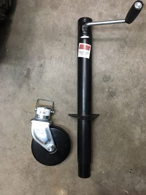 Trailer Jack and Wheel for Sale in Glendale, AZ