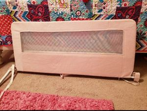 Pink ( washable) bed rail guard...great condition for Sale in Chesapeake, VA