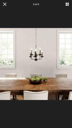 Black chandelier 🖤 for Sale in Long Beach, CA