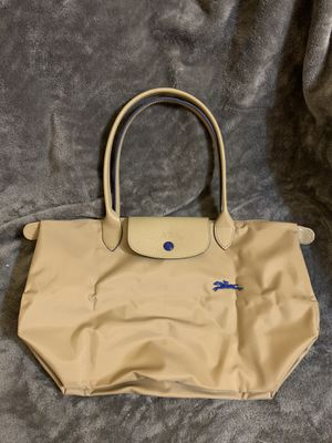 LONGCHAMP LE PLIAGE CLUB tote bag small size 841 beige for Sale in Torrance, CA