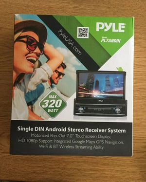 Pyle Android Car Stereo with touchscreen. Model PL7ANDIN for Sale in San Diego, CA
