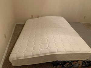 Queen mattress and bed frame for Sale in Fresno, CA