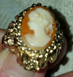 cameo ring for Sale in Portal, GA
