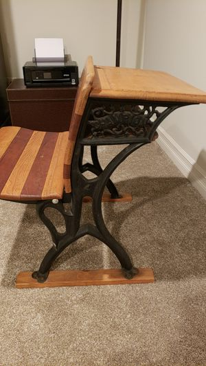 Antique school desk for Sale in Blacklick, OH