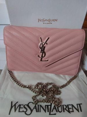 Pink ysl clutch/crossbody for Sale in Dulles, VA