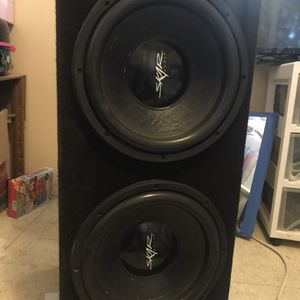 'SKAR' Audio Speakers For Car ! Bad Asss for Sale in Chowchilla, CA