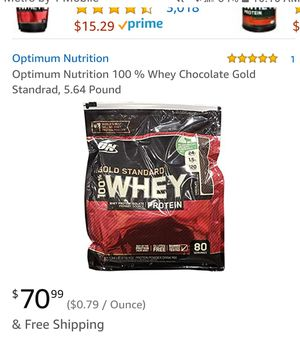 Whey protein for Sale in Citrus Heights, CA