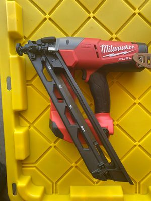 Milwaukee Fuel M18 Finish Nailer for Sale in Manteca, CA
