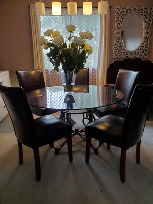 Glass dining table for Sale in Westerville, OH