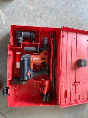 Hilti hammer drill for Sale in Ellensburg, WA