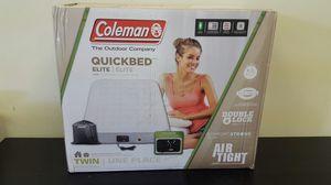 Coleman quickbed air mattress price in target 59.99 + so you save like $20 price firm. .. Colchon de aire precio fijo for Sale in Arlington, TX
